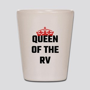 Queen Of The RV Shot Glass