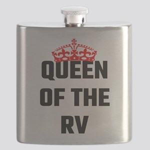 Queen Of The RV Flask