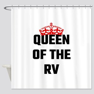 Queen Of The RV Shower Curtain