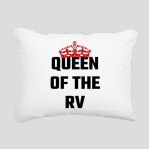 Queen Of The RV Rectangular Canvas Pillow