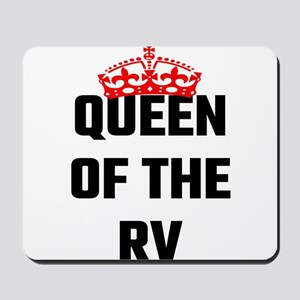 Queen Of The RV Mousepad