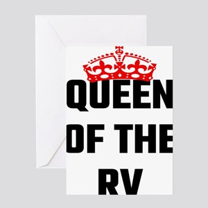 Queen Of The RV Greeting Cards