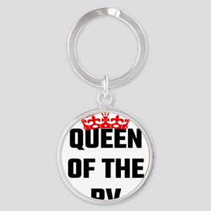Queen Of The RV Keychains