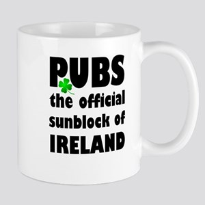 PUBS the official sunblock of IRELAND Mugs
