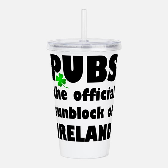 PUBS the official sunb Acrylic Double-wall Tumbler
