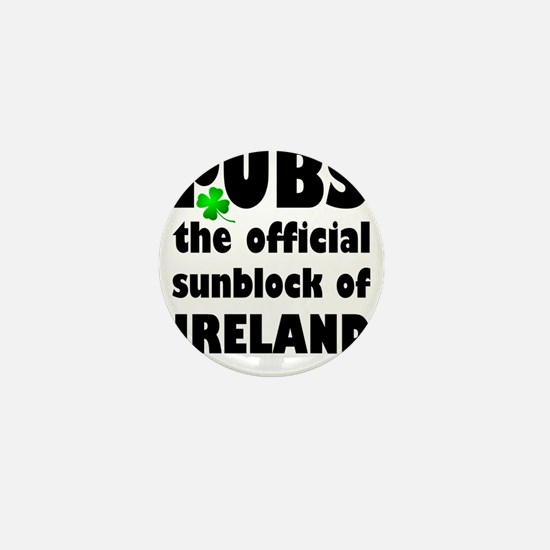 PUBS the official sunblock of IRELAND Mini Button