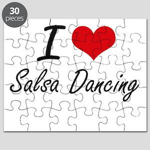 I love Salsa Dancing Puzzle