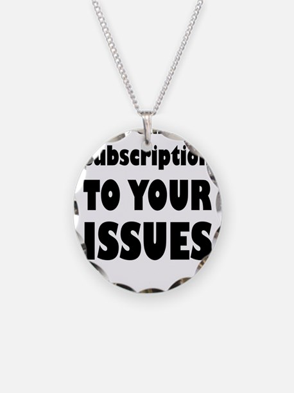 Please Cancel My Subscriptio Necklace