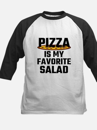 Pizza Is My Favorite Salad Baseball Jersey