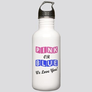 Pink Or Blue We Love Y Stainless Water Bottle 1.0L