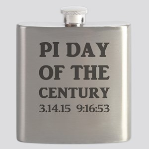 Pi Day Of The Century Flask