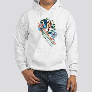 Exciting and New Hooded Sweatshirt
