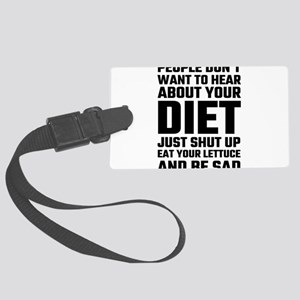People Don't Want To Hear About Large Luggage Tag