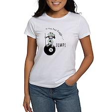 8 Ball Billiard Frog Cartoon Women's T-Shirt