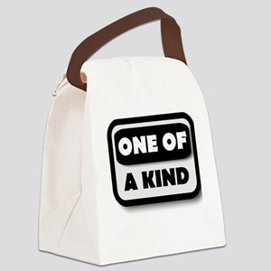 One Of A Kind Canvas Lunch Bag
