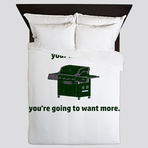 Once you put my meat in your mouth...y Queen Duvet