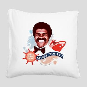 Shake 'Em Up! Square Canvas Pillow