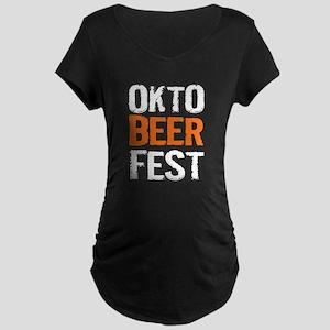 Okto Beer Fest Maternity T-Shirt