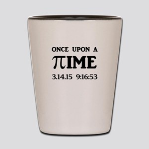 Once Upon A Time 3.14.15 Pi Day Shot Glass