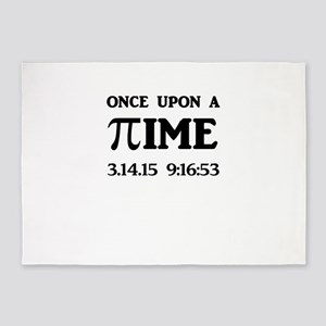Once Upon A Time 3.14.15 Pi Day 5'x7'Area Rug