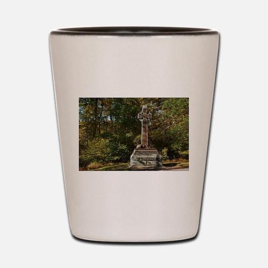 Gettysburg National Park - Irish Brigad Shot Glass