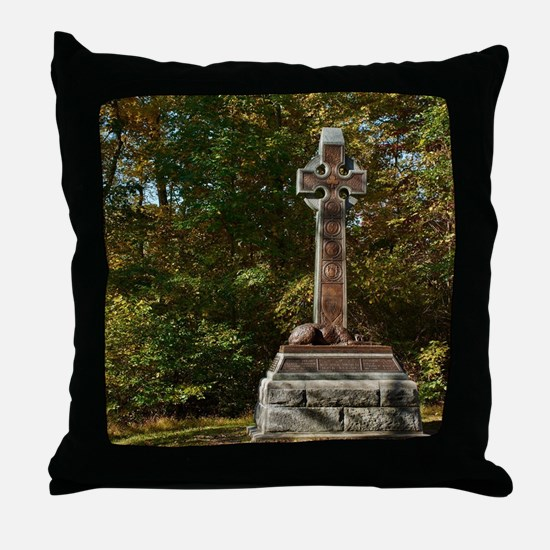 Gettysburg National Park - Irish Brig Throw Pillow