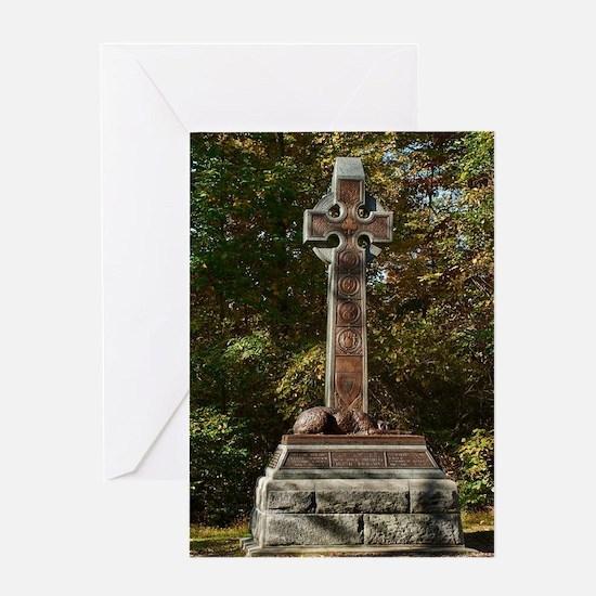 Gettysburg National Park - Irish Br Greeting Cards