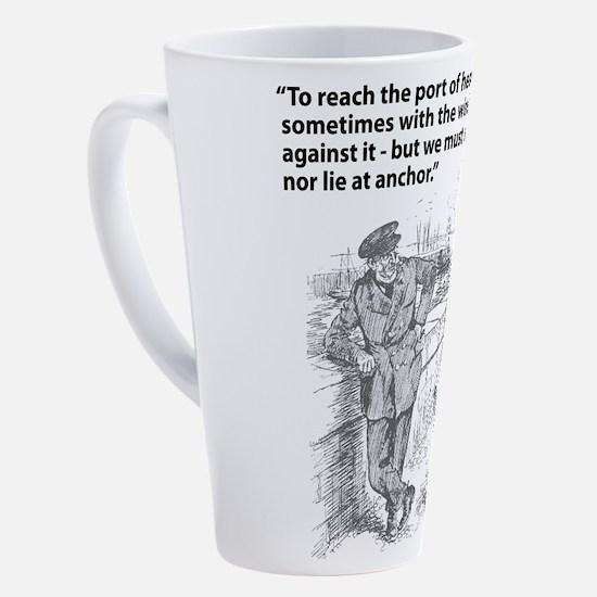 Cute Wind 17 oz Latte Mug