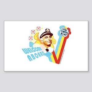 Welcome Aboard Sticker (Rectangle)