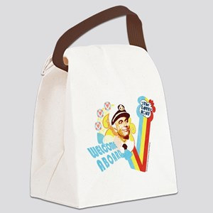 Welcome Aboard Canvas Lunch Bag