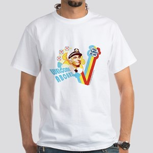Welcome Aboard White T-Shirt