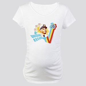 Welcome Aboard Maternity T-Shirt