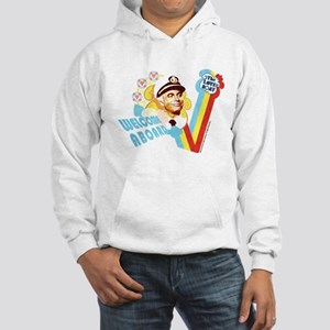 Welcome Aboard Hooded Sweatshirt