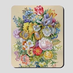 Flower Bouquet Painting Mousepad