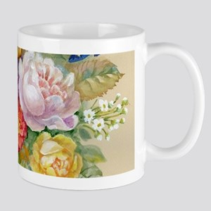 Flower Bouquet Painting 11 oz Ceramic Mug