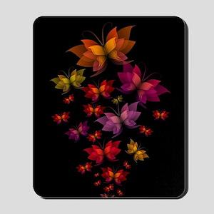Digital Butterflies Mousepad
