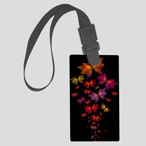 Digital Butterflies Large Luggage Tag
