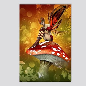 Autumn Fairy Postcards (Package of 8)