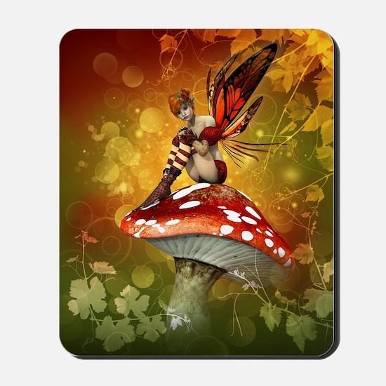 Autumn Fairy Mousepad