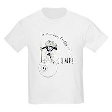9 Ball Frog Cartoon Kids Light T-Shirt