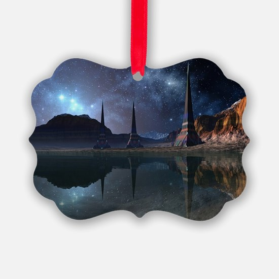 Alien World Ornament