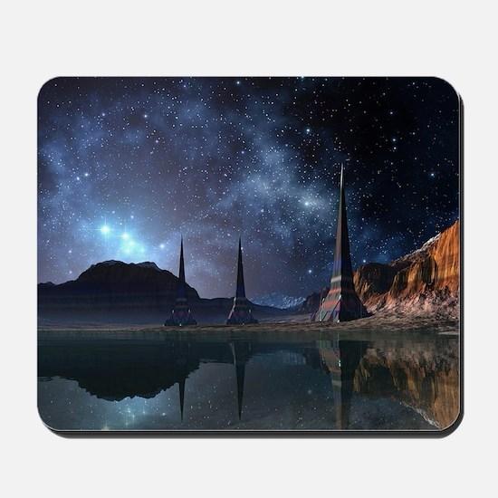 Alien World Mousepad