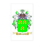 Margerit Sticker (Rectangle)