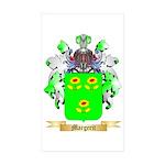 Margerit Sticker (Rectangle 50 pk)