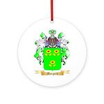 Margerit Round Ornament