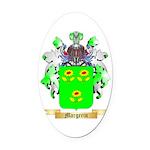 Margerin Oval Car Magnet
