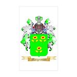 Margereson Sticker (Rectangle 50 pk)