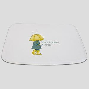 Rain Saying Bathmat