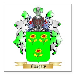 Margary Square Car Magnet 3
