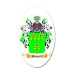 Margarit 35x21 Oval Wall Decal